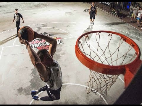 1v1 Prison Yard Basketball Finals – Red Bull King of the Rock 2014