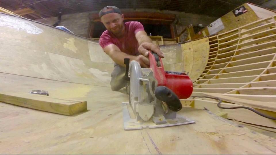 A true DIY skate spot: South Philly Bowl – Red Bull DIY Spot Supply
