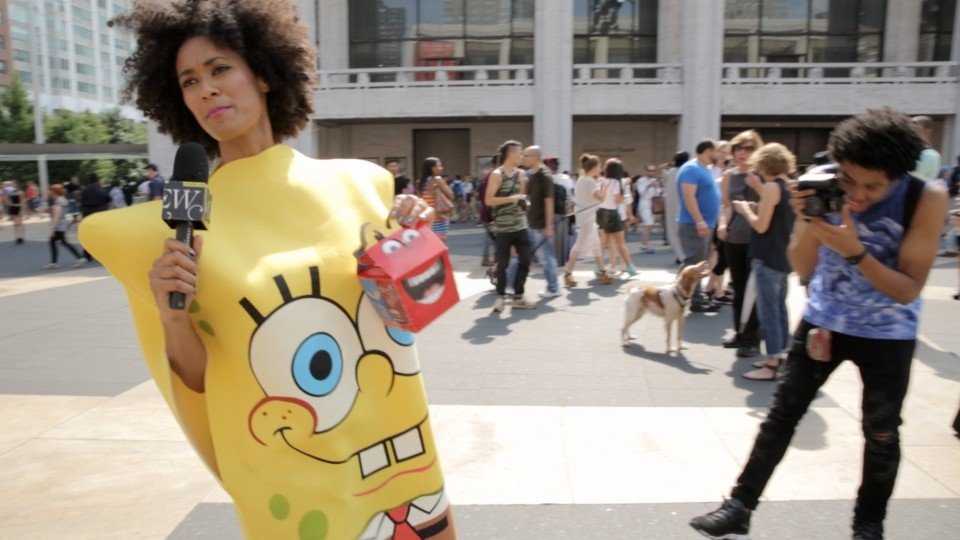 Abbi Crutchfield's SpongeBob Realness at NYFW