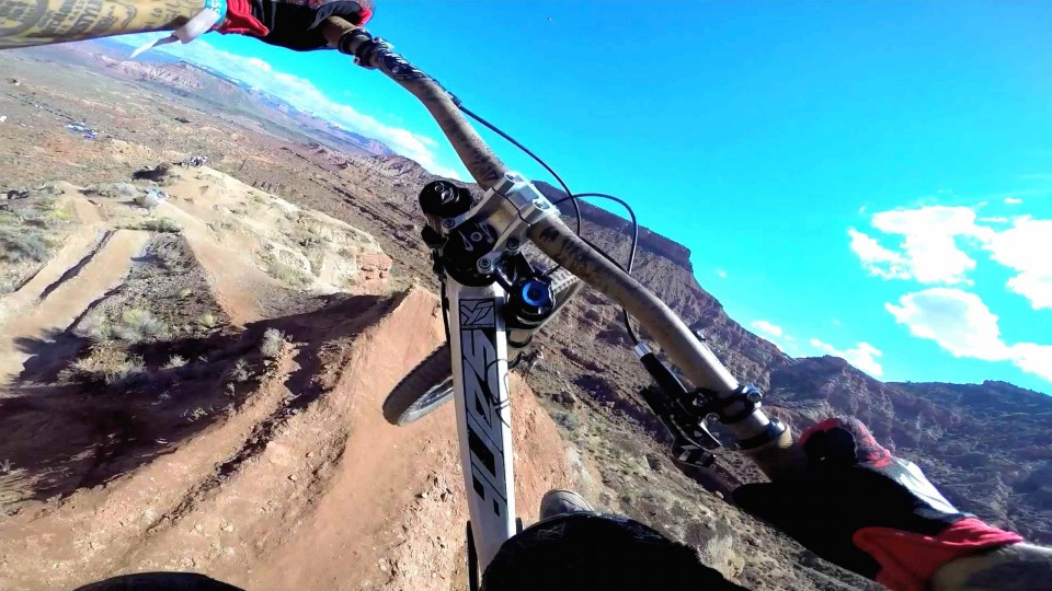 Andreu Lacondeguy's Winning MTB GoPro Run – Red Bull Rampage 2014
