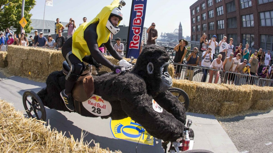 Best Action from Red Bull Soap Box Seattle 2014