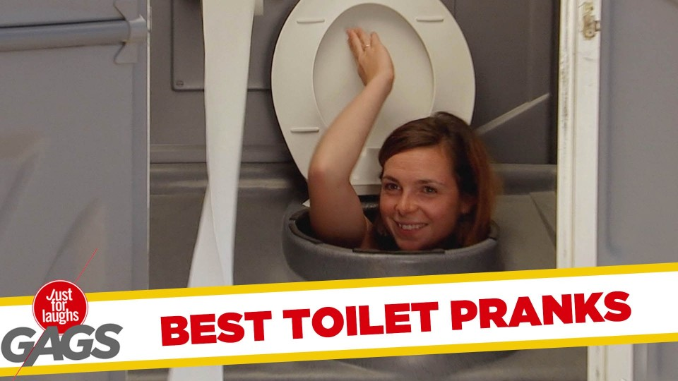 Best Public Toilets Pranks – Best of Just for Laughs Gags