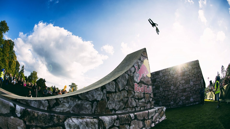 Big Air MTB Slopestyle Competition – Martin Söderström Invitational 2014