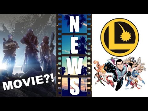 Bungie's Destiny from Video Game to Movie?! Legion of Superheroes Movie?! – Beyond The Trailer