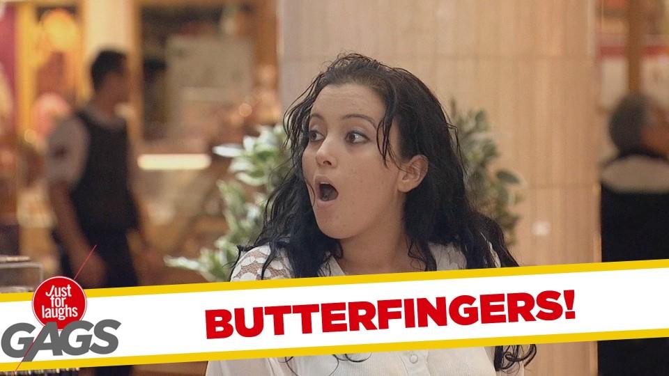 Butterfingers Prank