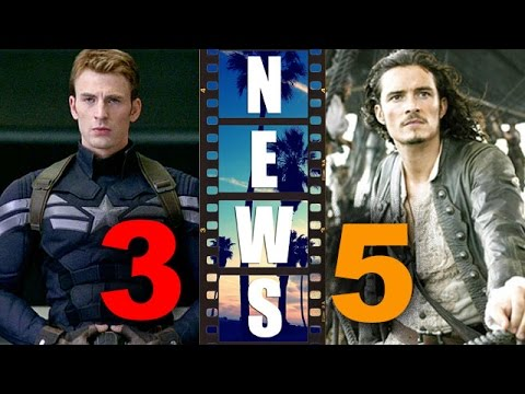 Captain America 3, Pirates of the Caribbean 5 : News & Updates! – Beyond The Trailer
