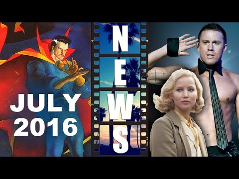 Dr Strange Movie, July 8th 2016! Magic Mike XXL Cast! Serena 2015! – Beyond The Trailer