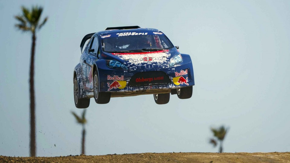 Drifting Through Los Angeles – Red Bull Global Rallycross 2014