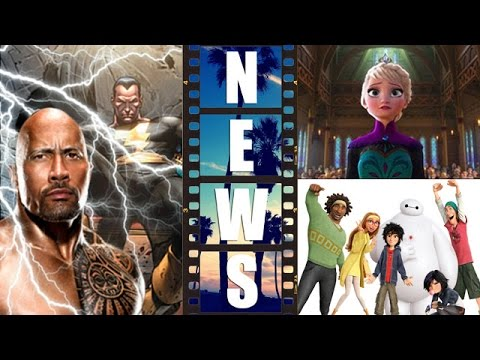 Dwayne Johnson is Black Adam! Frozen Forever 2015! Big Hero 6 Update! – Beyond The Trailer