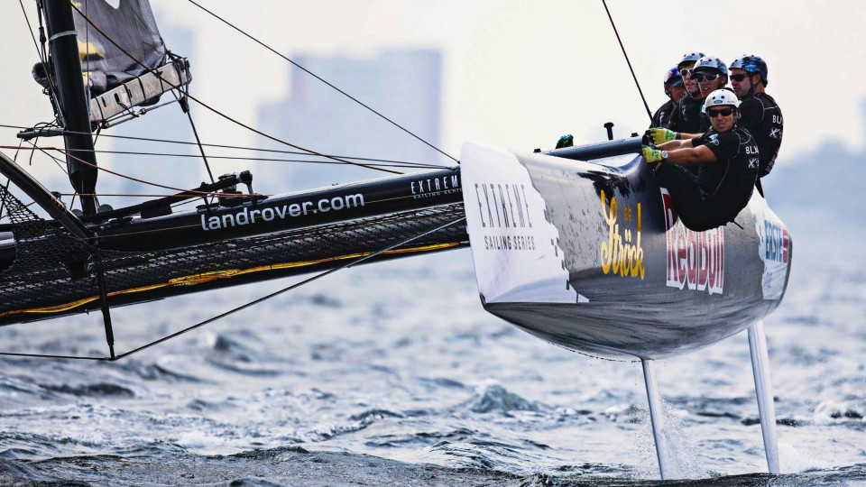 Extreme Sailing Competition in Istanbul