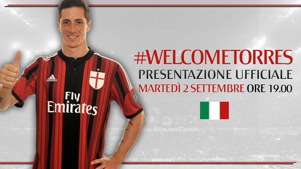 Fernando Torres – Presentazione Ufficiale | AC Milan Official