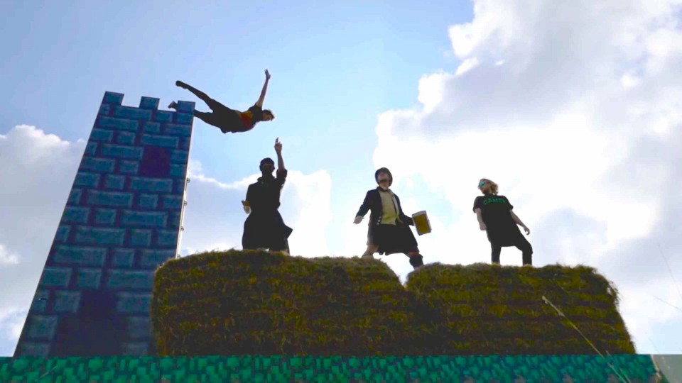 Freerunning in 8bit with Jason Paul – Behind the Scenes