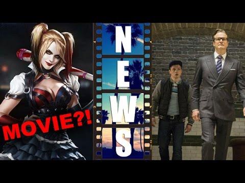 Harley Quinn Movie?! Kingsman The Secret Service 2015 delay! – Beyond The Trailer