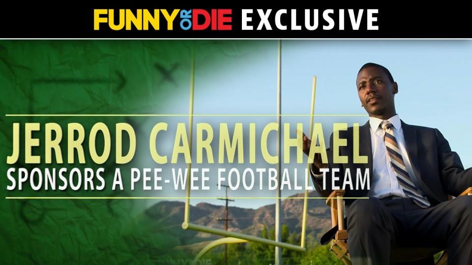 Jerrod Carmichael Sponsors a PeeWee Football Team