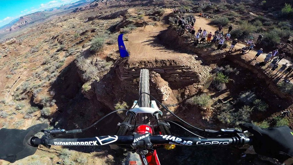 Kelly McGarry Finals Run GoPro Footage – Red Bull Rampage 2014