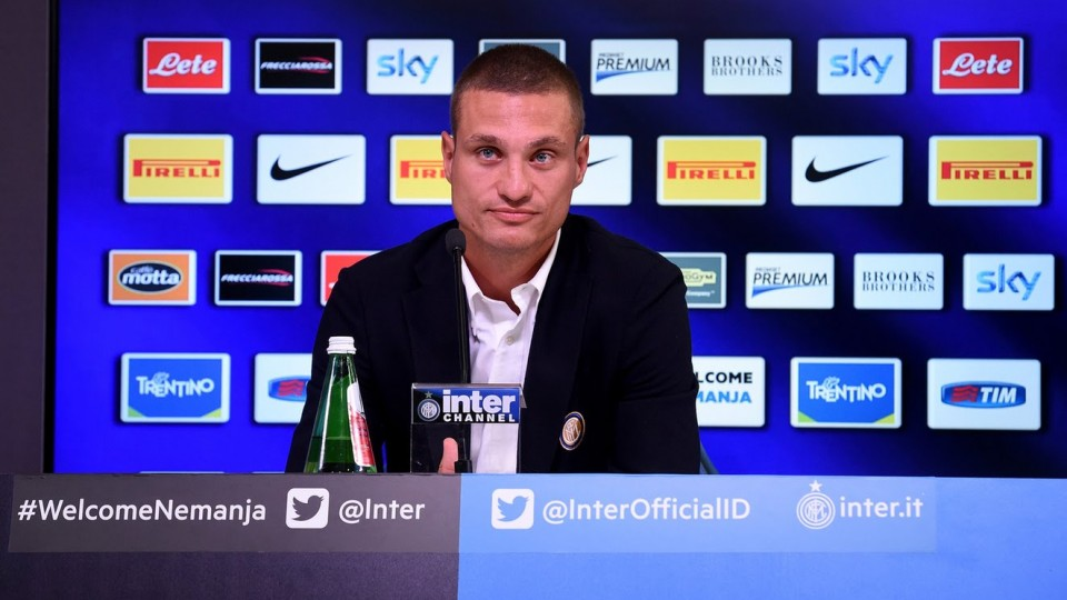 Live Streaming! Nemanja Vidic press conference: #3questionsToVidic – 20.9.2014