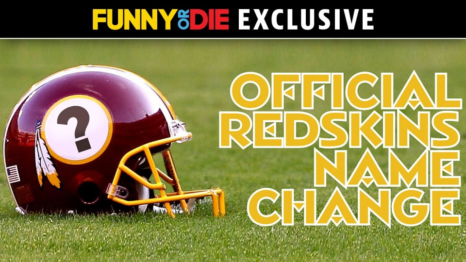 Official Redskins Name Change