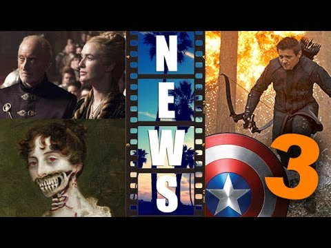 Pride & Prejudice & Zombies movie update! Hawkeye in Captain America 3?! – Beyond The Trailer