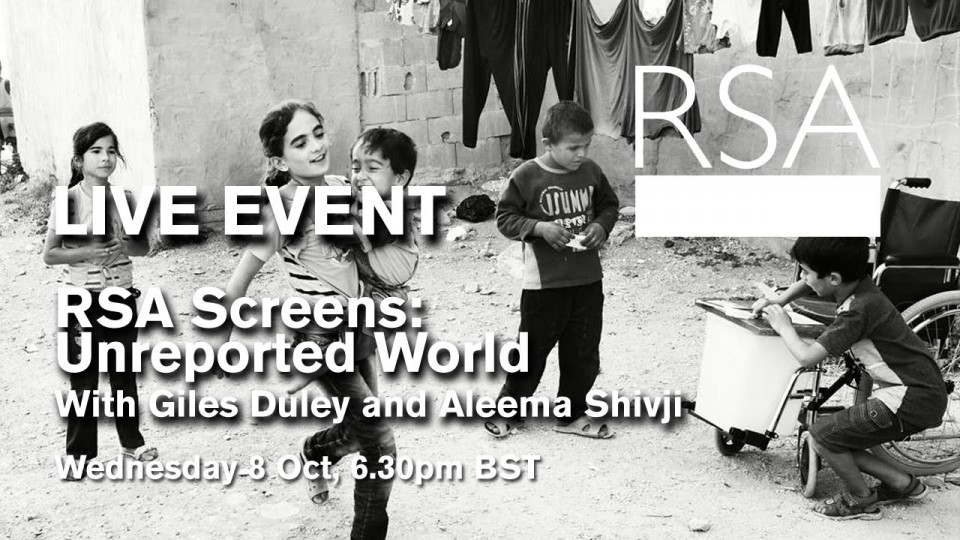 RSA Screens: Unreported World