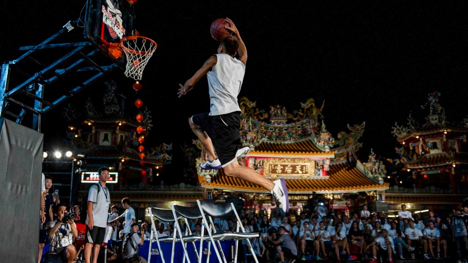 Slam Dunk Contest – Red Bull King of The Rock World Finals 2014