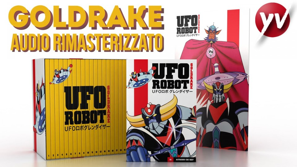 Ufo Robot GOLDRAKE – Audio rimasterizzato | YamatoVideo