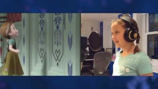 """Voices of Young Elsa & Anna"" Clip – The Story of Frozen: Making a Disney Animated Classic"