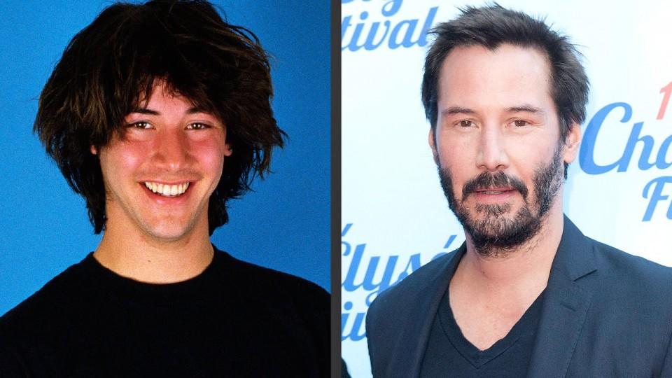 Whoa: Keanu Reeves's Changing Looks! – PEOPLE