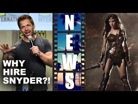 Zack Snyder & Batman v Superman 2016, DC's Wonder Woman movie a secret weapon?! – Beyond The Trailer