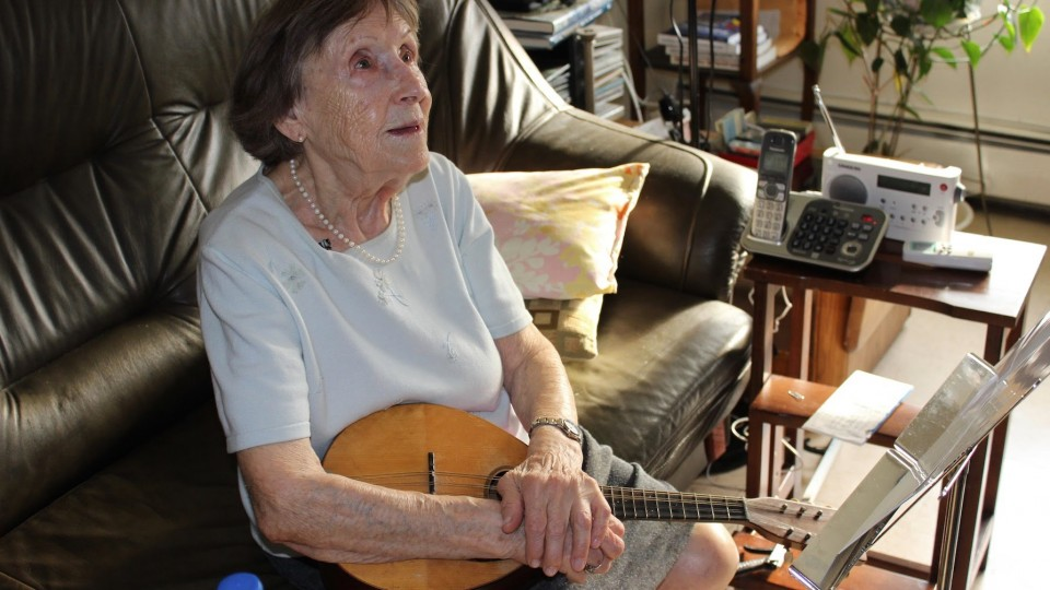 A Holocaust Survivor and Her Mandolin