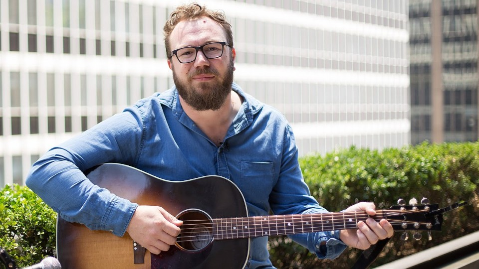 Ben Ottewell Plays 'Rattlebag' – on Our Roof! – PEOPLE