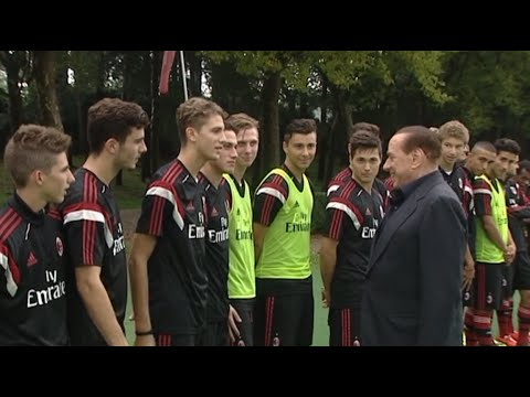 Berlusconi incontra i giovani | AC Milan Youth Official