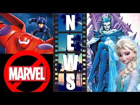 Big Hero 6 End Credits Scene, DC Comics version of Frozen's Elsa?! – Beyond The Trailer