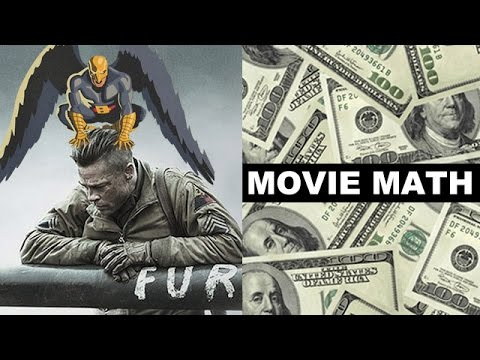 Box Office for Fury, Birdman 2014, Guardians of the Galaxy China