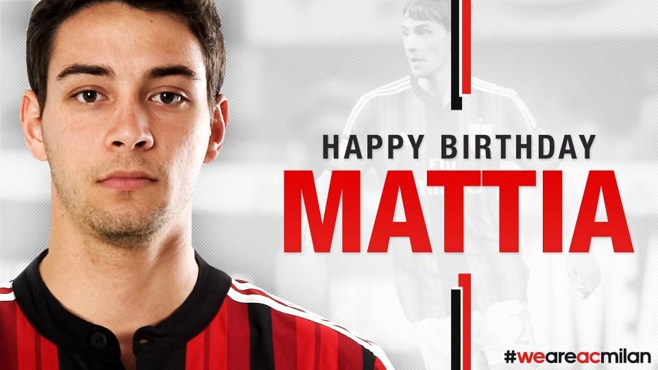 Buon compleanno De Sciglio! Happy Birthday Mattia! | AC Milan Official