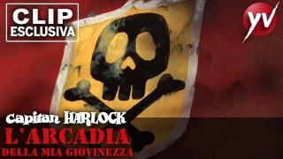 Capitan Harlock – Clip 7: Phantom F. Harlock sfida la montagna | Yamato Video