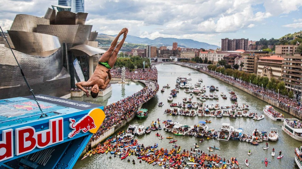 Cliff Diving Action from Spain – Red Bull Cliff Diving World Series 2014