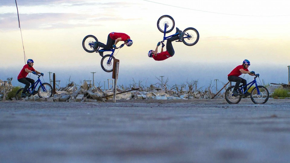 Danny MacAskill lands First-Ever Bump-Front Flip – Behind the Scenes of Epecuén
