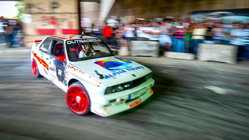 Drift Racing through Lebanon – Red Bull Car Park Drift 2014