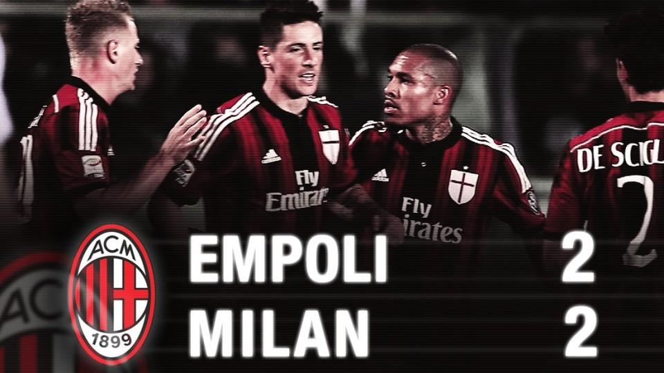 Empoli-Milan 2-2 Highlights | AC Milan Official