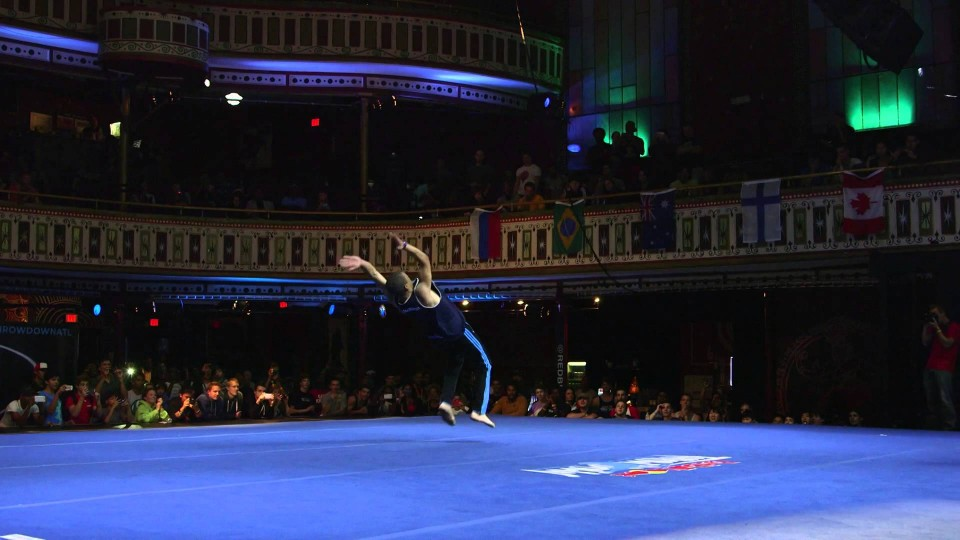 Freestyle Tricking Battle – Red Bull Throwdown 2014