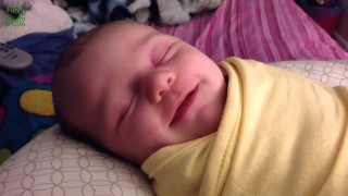 Funny Babies Laughing While Sleeping Compilation 2014 [NEW HD]