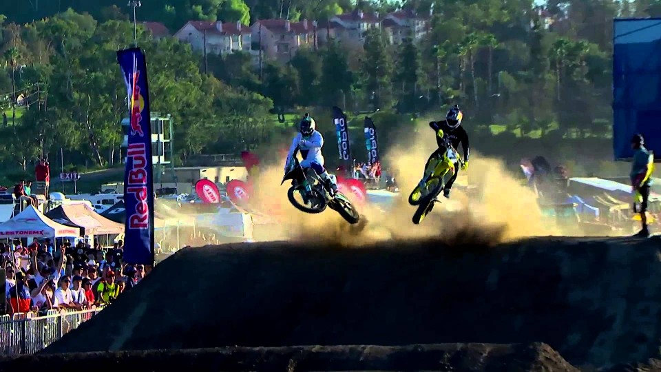 Head-to-Head Unwound Supercross Rhythm Section – Red Bull Straight Rhythm 2014