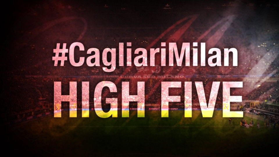 High Five #CagliariMilan | AC Milan Official