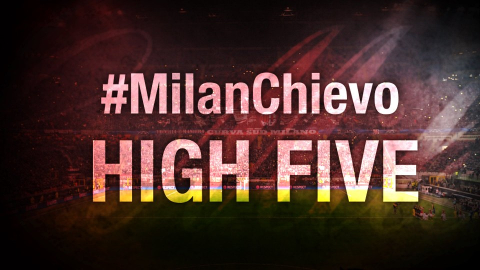 High Five #MilanChievo | AC Milan Official