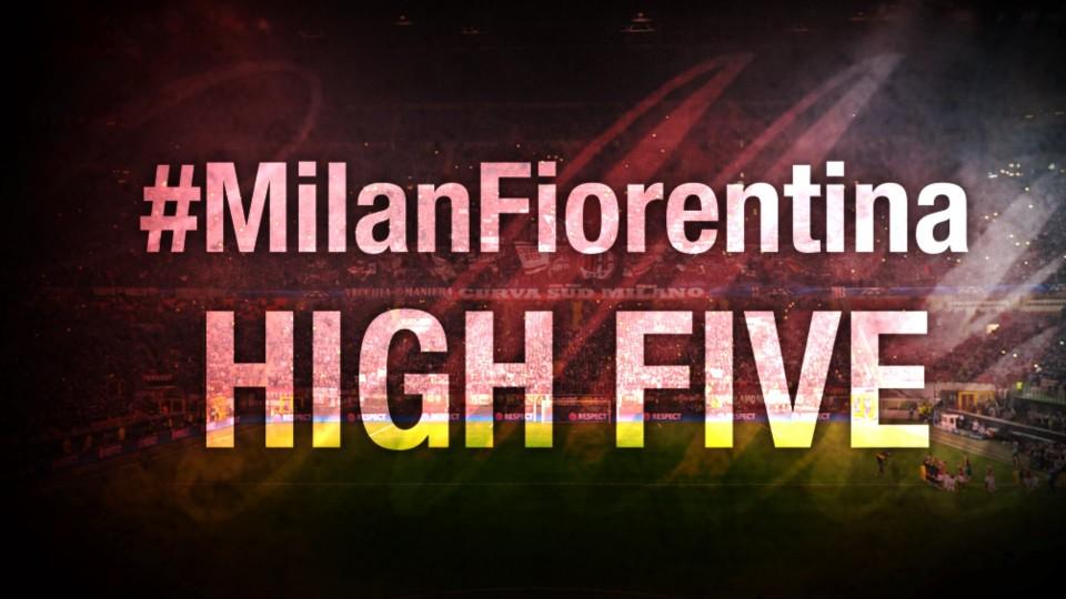 High Five #MilanFiorentina | AC Milan Official