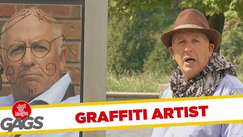 Instant Accomplice – Graffiti Artist Prank