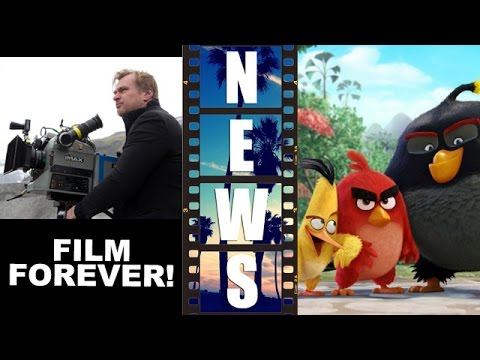 Interstellar in 70mm November 5th, Angry Birds Movie 2016 voice cast! – Beyond The Trailer