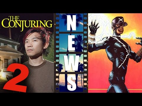 James Wan for The Conjuring 2 2016, Static Shock Digital Series – Beyond The Trailer
