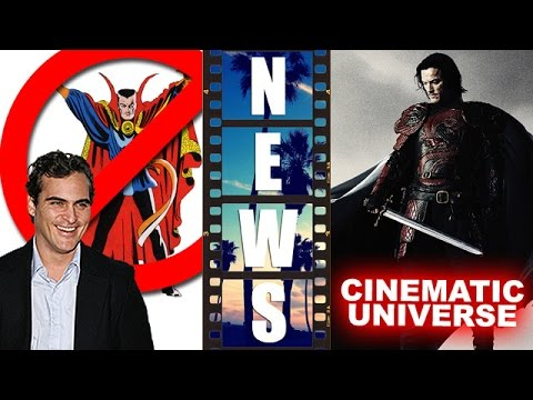 Joaquin Phoenix rejects Dr Strange, Universal Monsters Cinematic Universe – Beyond The Trailer