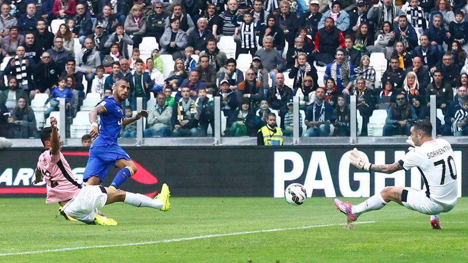 Juventus-Palermo 2-0 26/10/2014 Highlights